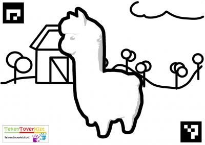 Tekentoverkist Alpaca Colorcard