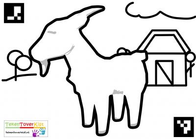 Tekentoverkist Goat Colorcard